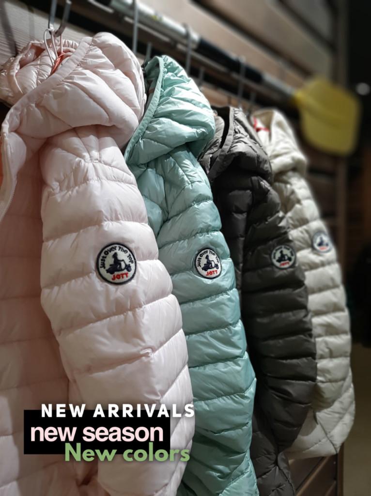 NEW ARRIVALS Jott, new season, new colors: També online